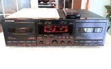 Pioneer Elite Ct-W51 Dual Playback & Record Cassette Deck Superb!