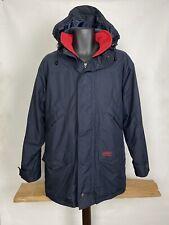 Mens Musto Performance Jacket Snugs Size S Polartec Fleece Lined Coat Navy Blue