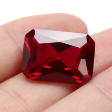 EXQUISITE 18.52CT PIGEON BLOOD RED RUBY 13x18mm EMERALD CUT AAAA+ LOOSE GEMSTONE