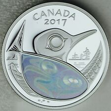 2017 $20 Canada: Protecting our Future Pure Silver Hologram Salmon, Loon & Canoe
