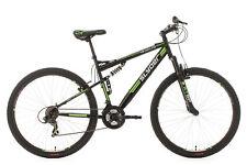 Mountainbike Fully 29'' MTB Slyder Schwarz-Grün 21 Gänge RH 51 cm 524M