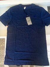 G Star Raw Men's T shirt, Navy Blue, XS