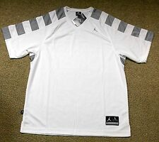 Nike sz L Jordan Team Shooting Men's Basketball Shirt NEW  427356 101 White