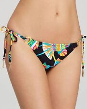 NWT  $76  TRINA TURK   TAHITIAN FLORAL    SIZE 12   TIE SIDE    BOTTOM  ONLY