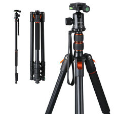 "78"" Foldable Studio Photography Flash Light Stand DSLR Tripod 360°Ball Head Kit"
