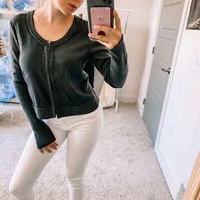 Kristensen Du Nord Women's Sz 1 US XS Cashmere Silk Soft Cardigan Long Sleeve