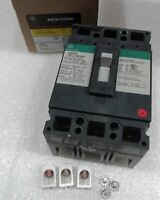 THED136100WL GE Molded Case Circuit Breaker 3 Pole 100 Amp 600V NEW!