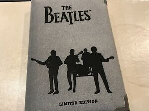 BEATLES 1990 LIMITED EDITION COLLECTION BOOKLET W/SILVER COIN/PHOTOS/'HELP'