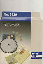 PERFORATION GAUGE safe PERFOMETER 9820