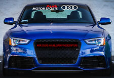 Gy Audi Motor Sports Windshield Decal Window Stickers Banner Graphics