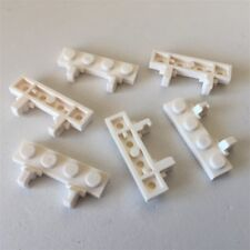 LEGO SPARE PARTS 44568 - Hinge Plate 1 x 4 Locking Dual 1 Finger, (WHITE) X6 D4