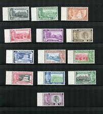 MONTSERRAT STAMPS SG 114-126 MNH CV £62 LOT 257