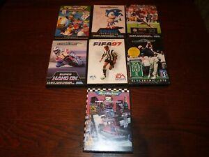 Sega Mega Drive Games Lot x 7