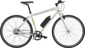"""Gtech Sport Electric Hybrid Bike - 20"""", White/Green"""