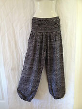 Ladies Boho Harem Pants Summer Plus Size 16 18 20 Also Maternity BNIP [PS-BWS]