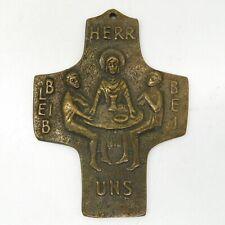 Sammlungsauflösung religiöse Volkskunst hochwertiges Kreuz Wandkreuz Bronze (19)
