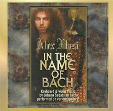 Alex Masi - In the Name of Bach - CD - Neu - OVP