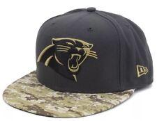 New Era NFL 5950Carolina Panthers Salute To Service Camouflage Charcoal, Size 7