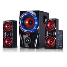 Home Theater Stereo Audio System Sound Speakers W/ Remote Wireless Bluetooth USB