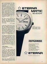 Eterna-Sevenday-1971-Reklame-Werbung-vintage print ad-Vintage Publicidad-老式平面广告