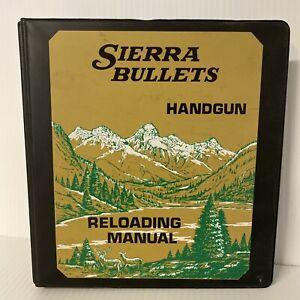 Sierra Bullets, Handgun Manual