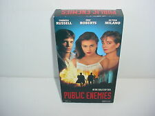 Public Enemies VHS Video Tape Movie Alyssa Milano