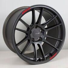 18x9.5 Enkei GTC01RR 5x114.3 +22 Matte Gunmetal Wheels (Set of 4)