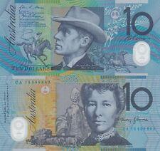 Australia 10 Dollars (2015) - Horserider/Ox Cart/p58h UNC