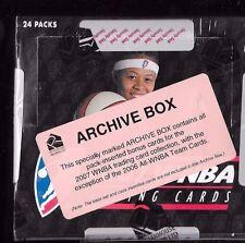 2007 WNBA Factory sealed Archive Box  Rittenhouse