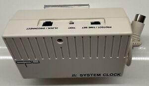 Apple IIc System Clock