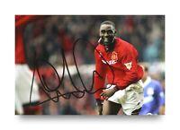 Andy Cole Signed 6x4 Photo Manchester United England Autograph Memorabilia + COA