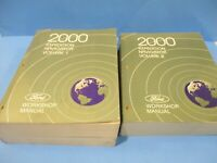 2000 FORD EXPEDITION NAVIGATOR Service Shop Repair Workshop Manuals 1 & 2 PAPER