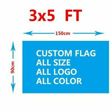 Custom Flag 3x5FT 90x150 Send the Design First Success Whether it is Appropriate