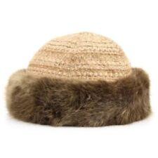 Gorras y sombreros de mujer de acrílico color principal marrón
