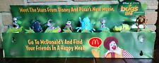 A BUG'S LIFE Disney Pixar movie theater display, McDonald's, rare collectible
