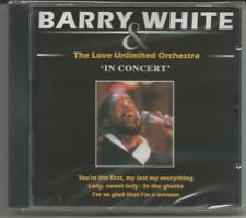 """BARRY WHITE & Love Unlimited Orchestra """"In Concert"""" CD Luca Specials NEU/OVP/NEW"""