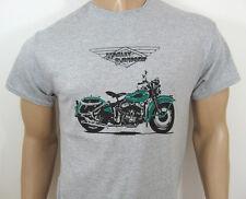 Harley-Davidson Wl Camiseta - Clásico EEUU Moto V-Twin Flathead Wla