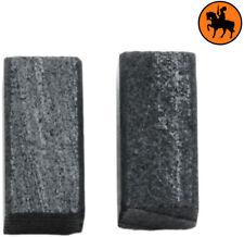 NEW Carbon Brushes BLACK & DECKER SR410E sander - 5x5x10mm