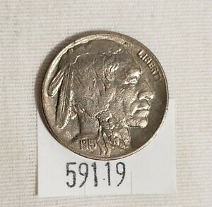WPCoins ~ 1915-D Buffalo Nickel Sixty Plus Plus