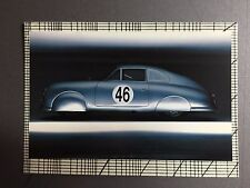 1951 356 Le Mans Coupe Porsche Factory issued Post Card RARE!! Awesome L@@K