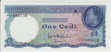 Ghana 1 Cedi 1965 Pick 5 UNC