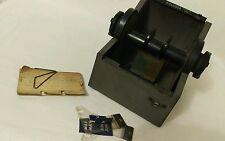 Vintage Metal Rolodex 5350 locking file No Key Filing System Information Storage