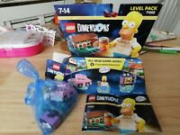 LEGO 71202 Dimensions The Simpsons Level Pack GENUINE BOXED UK