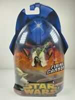 Star Wars Revenge of the Sith Firing Cannon Yoda 2005 Hasbro Sealed