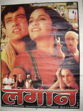 LAGAAN : ONCE UPON A TIME IN INDIA  BOLLYWOOD POSTER # 1 AAMIR KHAN