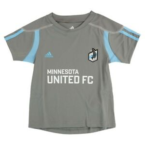 Minnesota United FC Adidas MLS Toddler Home Call Up Grey Soccer Jersey