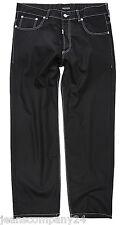 Lavecchia Black Herren Jeans Übergröße Big Men Hose XXXXXL Mode Bund 59cm W48