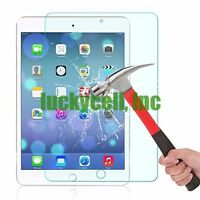 Apple iPad Air 1 2 Premium HD Ultra Clear Tempered Glass Screen Protector Film
