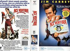 ACE VENTURA - PET DETECTIVE -VHS -PAL NEW -Never played!! - Original Oz release!
