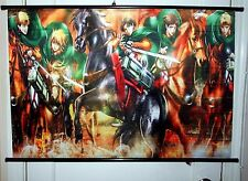 Attack On Titan WallScroll Poster, New